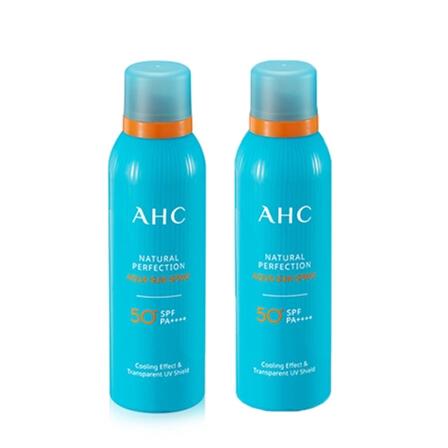【香港直邮】韩国AHC防晒喷雾隔离霜清爽不油腻180ml/瓶
