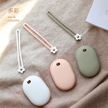 智能数显USB充电暖手宝移动电源二合一包邮