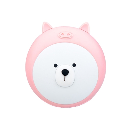 创意萌熊暖手宝移动电源便携usb充电包邮