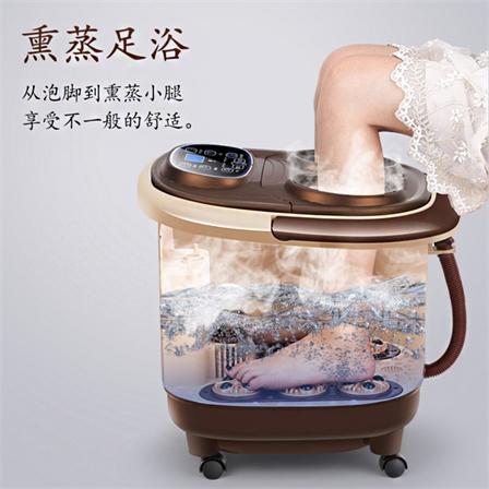 智能恒温全自动按摩足浴盆电动加热泡脚盆包邮