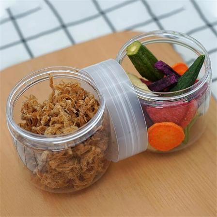 能量杯(双头瓶)烤肉条+干果蔬酥脆鲜香休闲零食