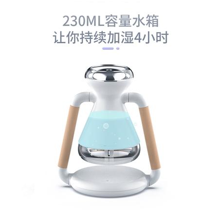 家用静音加湿器 USB充电空气加湿器办公室补水桌面喷雾器