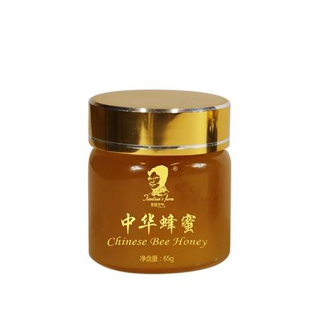 田田农场中华蜂蜜源自秦岭药王山,天然中药大处方 65g/包邮