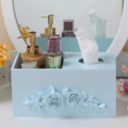 多功能木质纸巾盒抽纸餐巾纸收纳盒时尚客厅创意礼品盒