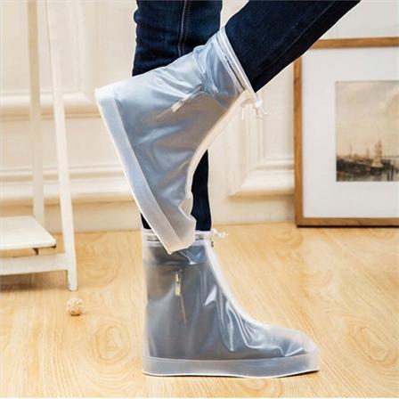 雨鞋套男女鞋套防水雨天防雨鞋套防滑加厚耐磨成人户外雨鞋套