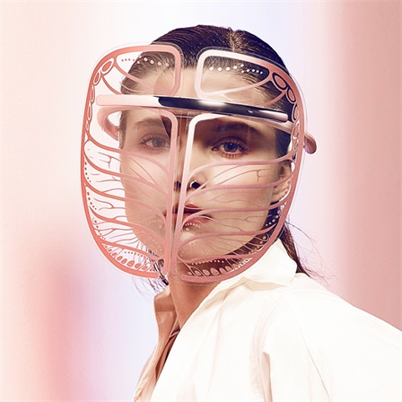 烯时代石墨烯面部美容仪提拉紧致去皱排毒家用电加热面罩