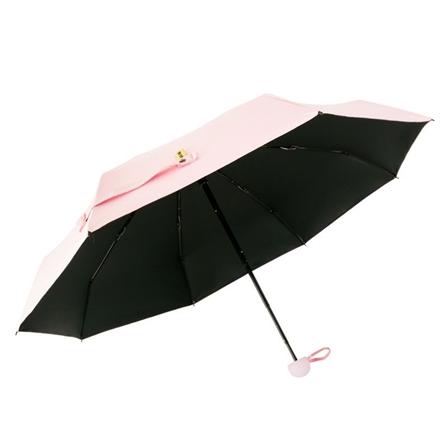 迷你超轻折叠太阳伞防紫外线小巧便携晴雨伞