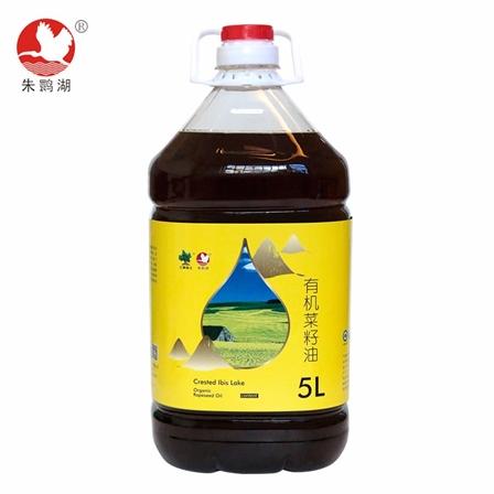 朱鹮湖有机菜籽油 家庭装5L