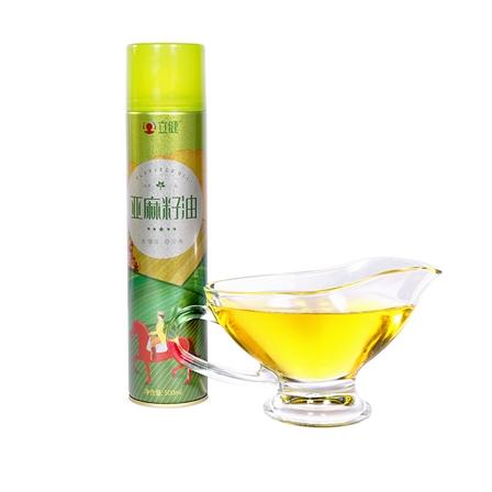 【买一送一购买1L赠送500ml】立健亚麻籽油一级冷榨食用油