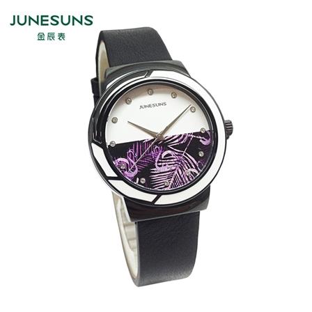 金辰表 J166-002高端精美女表进口石英机芯蓝宝石表镜/包邮