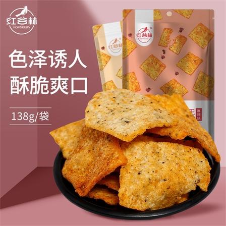 红谷林又见椒香花椒手工锅巴椒香味138g/袋