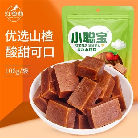 红谷林小聪宝果蔬山楂块果蔬山楂块106g/袋