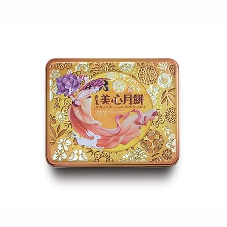 【预售】美心双黄白莲蓉月饼中秋礼品礼盒185g*4个740g(预计8月上旬陆续发货)