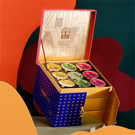 臻味-进口原料坚果环球品鉴礼盒装1105g/包邮