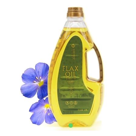 一级品 冷压榨 脱毒 脱苦 可炒菜亚麻籽油 富含OMEGA-3