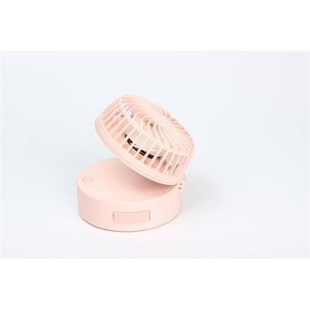 折叠小巧化妆镜子挂脖迷你风扇USB充电便携新款小风扇