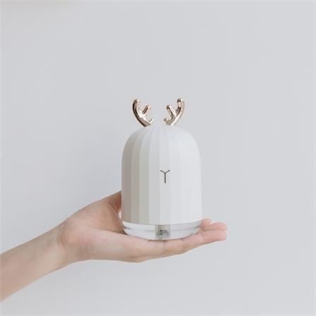 3life叁活创意萌鹿萌兔子萌宠迷你小夜灯USB加湿器