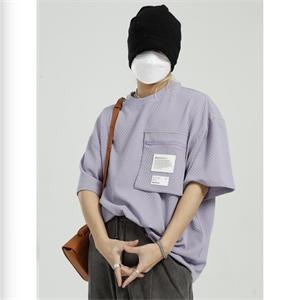 01三棱镜服饰年轻时髦男装短袖T恤