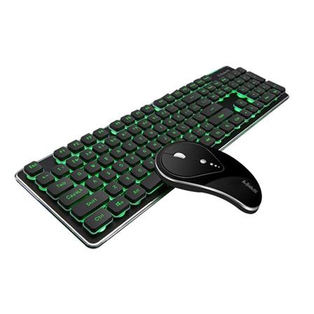 商务机械办公家用无线静音充电键盘鼠标套装